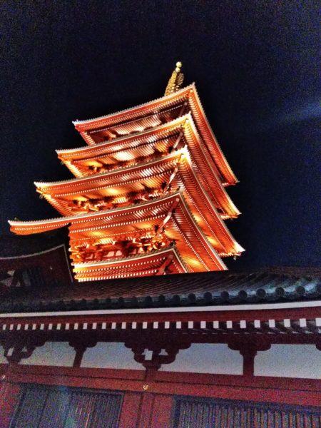 季節外れの浅草寺
