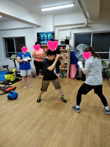 恵子ちゃんのマスボクシング練習会