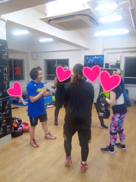 元女子プロボクサー恵子ちゃんのスパーリング教室第二弾