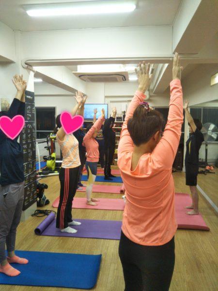2月28日(金)は純先生の「体伸び伸びストレッチ&ツボ」