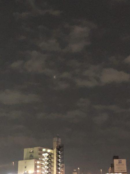 スーパームーンと皆既月食